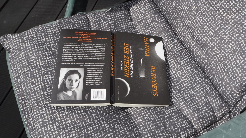 boek welkom in het rijk der zieken Hanna Bervoets
