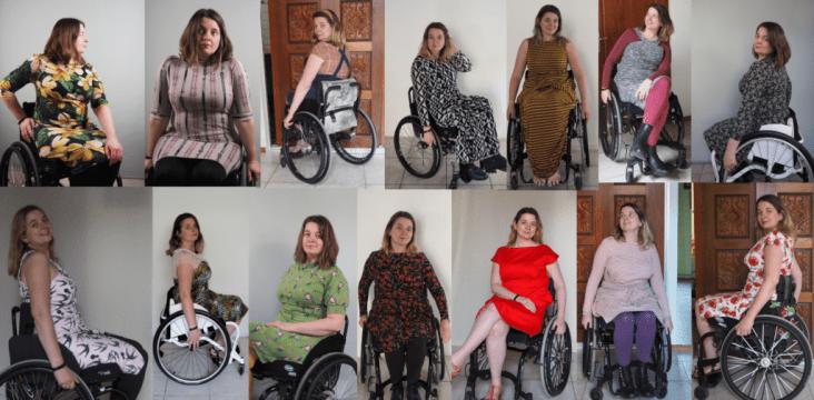 zelfgemaakte rolstoelvriendelijke jurkjes
