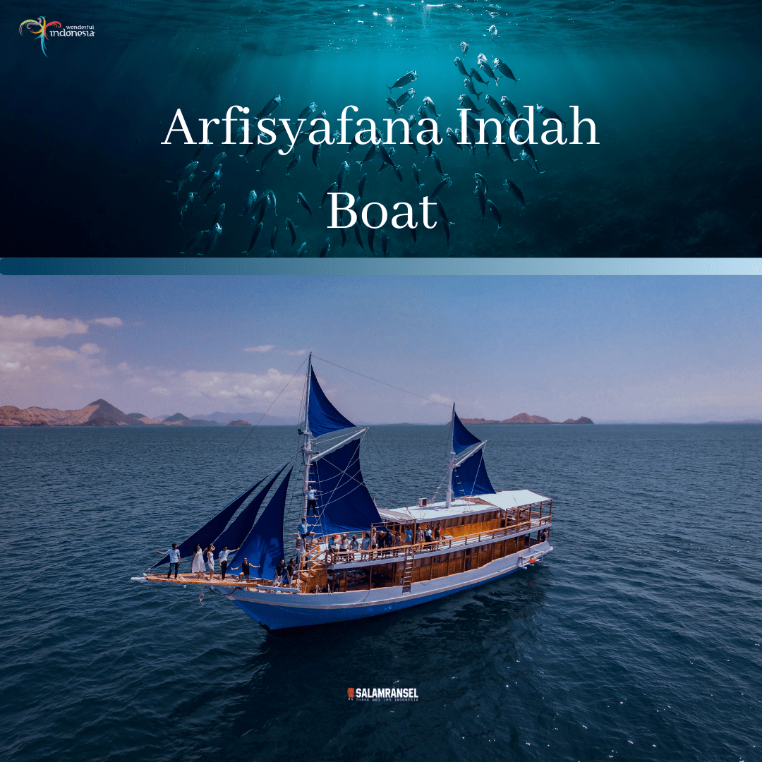 Kapal Arfisyafana indah Komodo Labuan Bajo Trip