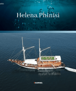 Kapal Helena Phinisi Liveaboard Komodo Labuan Bajo Trip