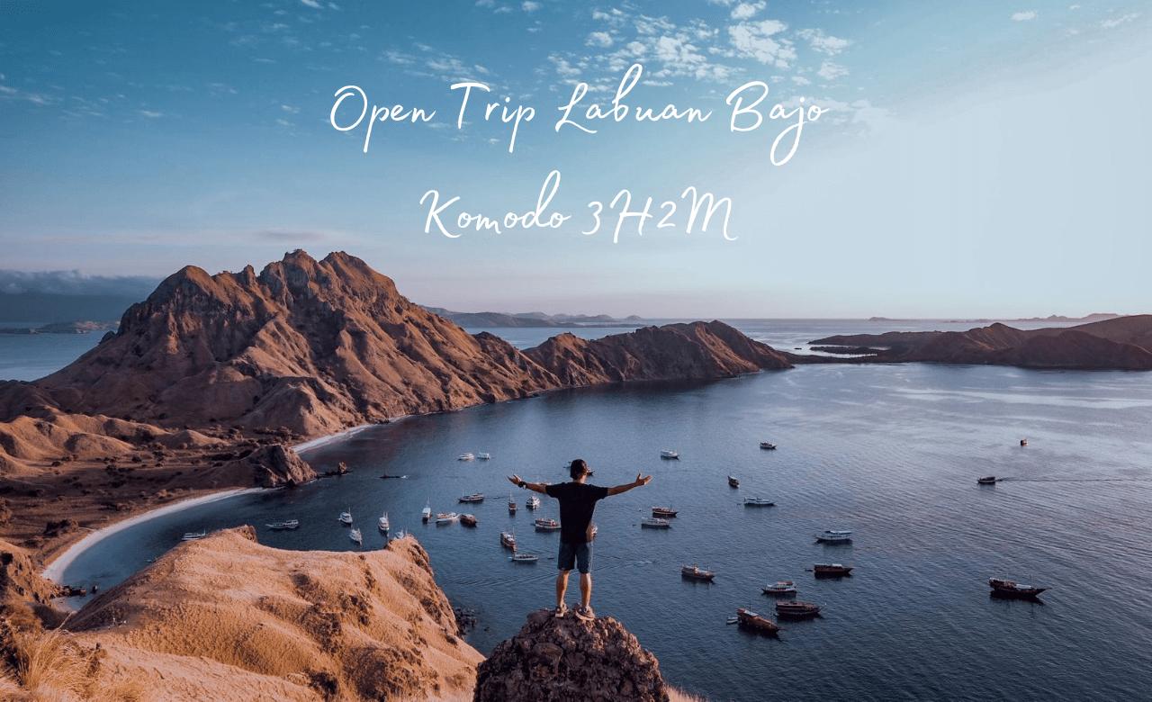 Open Trip Labuan Bajo Komodo 3H2M