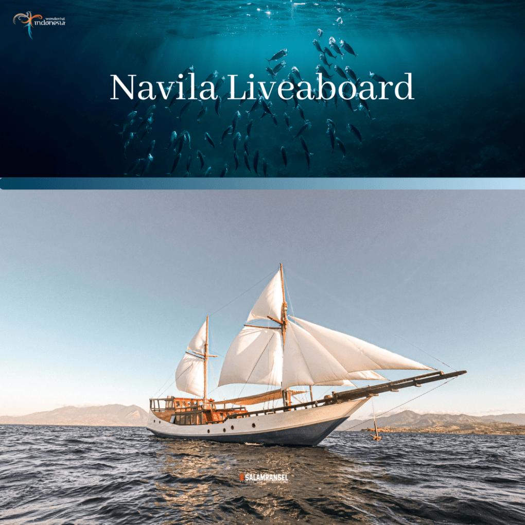 Kapal Navila Liveaboard Phinisi Komodo Labuan Bajo Trip