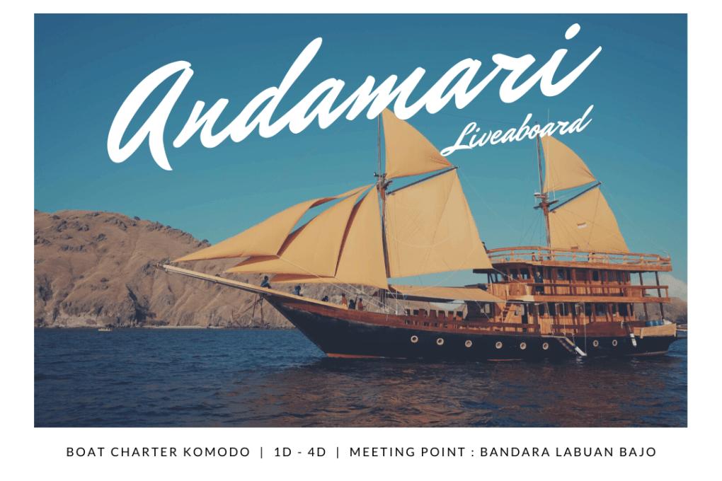 Kapal Andamari Liveaboard Komodo