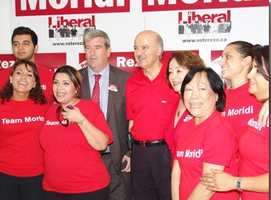 Moridi during his campaign