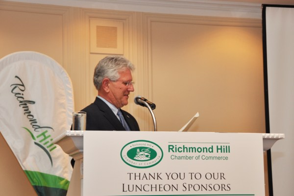 Dave Barrow Mayor of Richmond Hill
