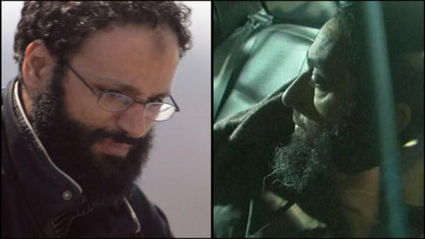 دو مظنون به اقدام تروریستی  رائد جیسر  (راست)  و شهیب اسه قائیر  (چپ)