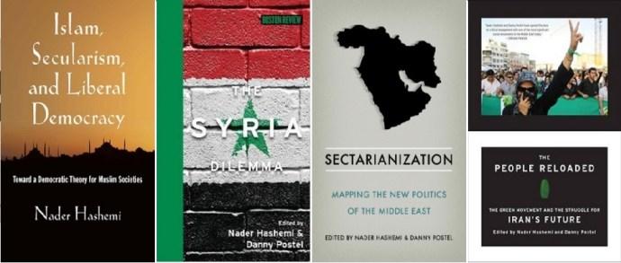 تعدادی از کتابهای تالیف شده توسط پروفسور هاشمی. http://naderhashemi.com