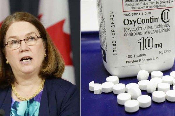 جین فیلپات وزیر بهداشت و درمان کانادا
