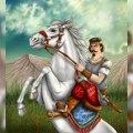 تصویری از نبرد خسروپرویز و بهرام چوبینه در شاهنامه