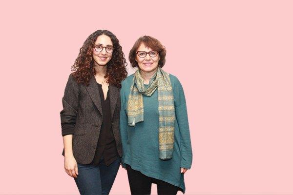 تورنتو، جمعه سوم مارچ 2017 -عکس از سلام تورنتو  پرفسور هما هودفر در کنار خواهر زاده خود آماندا قهرمانی