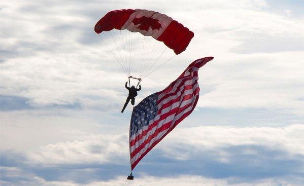 کانادا، و بخصوص استان انتاریو، در زمینه های متعددی اولین و بزرگترین مشتری آمریکا هستند.