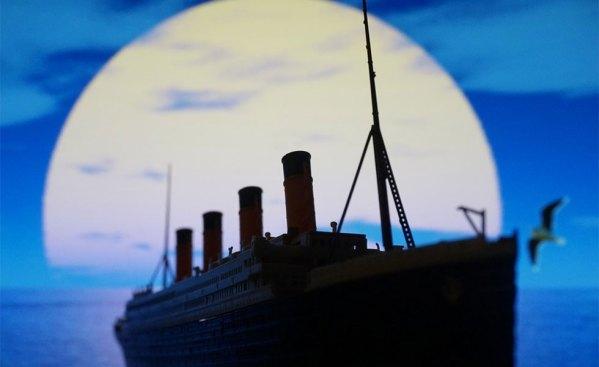 کشتی تاریخی تایتانیک از سواحل ساوت هامپتون انگلیس سفر خود را آغاز کرد.