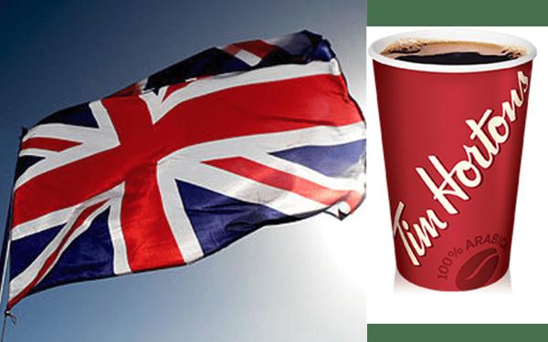 نوشیدنی داغ و مرسوم اهالی بریتانیا چای است نه قهوه.
