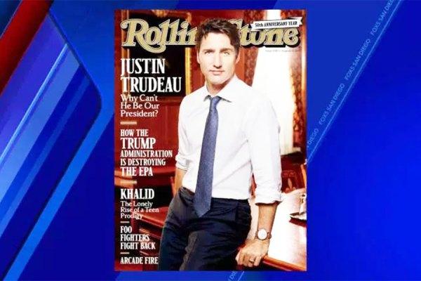 جلد مجله معروف رولینگ استون