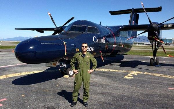کاپیتان هومن شیرازی اولین خلبان ایرانی تبار ارتش کانادا