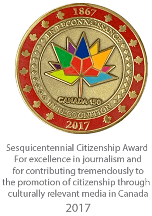 Canada's Sesquicentennial Citizenship Award