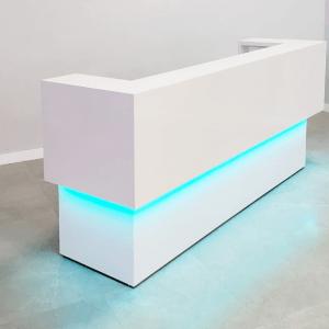 U Shape Custom Reception Desk