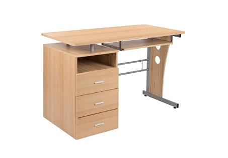 Maple Height Adjustable Desk