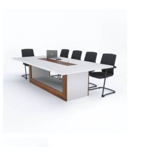 AJK-6 Best White Boardroom Meeting Table