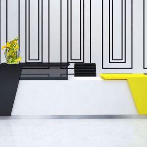 Best office Custom Made Hira Reception Desk