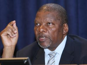 Rural Development and Land Reform Minister Gugile Nkwinti File photo by Simphiwe Mbokazi