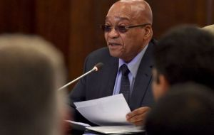 Zuma reminded the nation that he spoke this time last year of a Bill that would place a ceiling on land ownership at 12 000 hectares. File photo Image by: GCIS/ South African Government via flickr