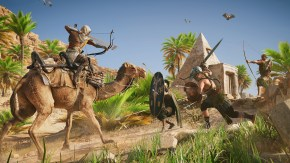 Assassin's Creed Origins Camel Archery