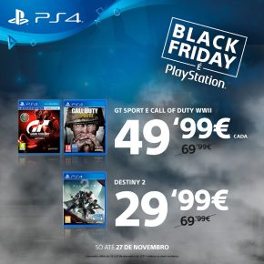 Black Friday é PlayStation - Software