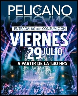 Viernes post concierto 29 Julio