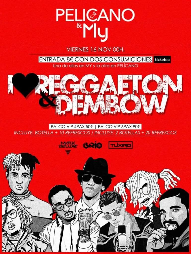 I love Reggaeton & Dembow