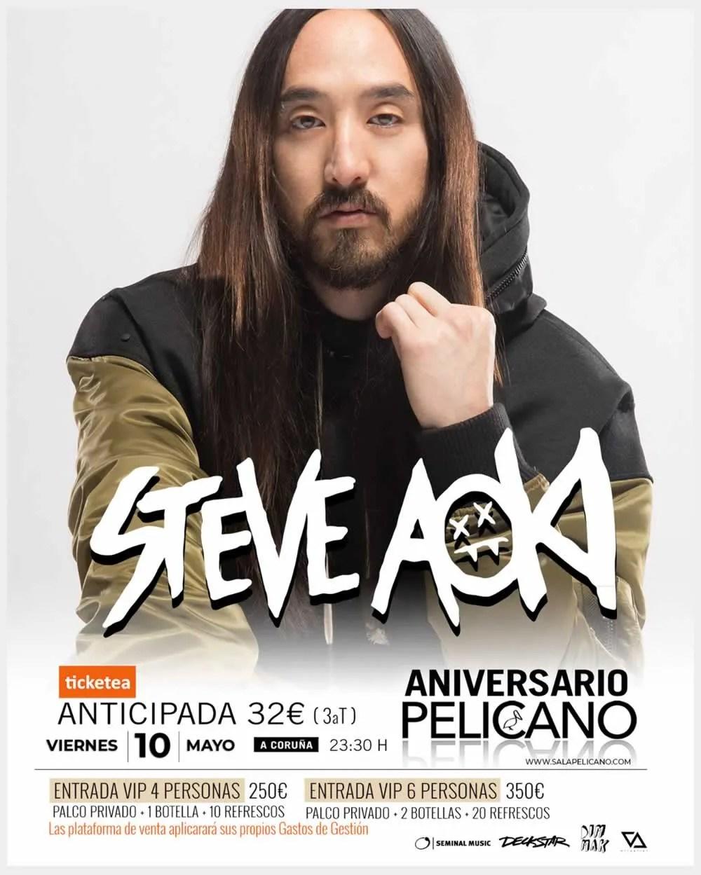 Steve Aoki Pelicano
