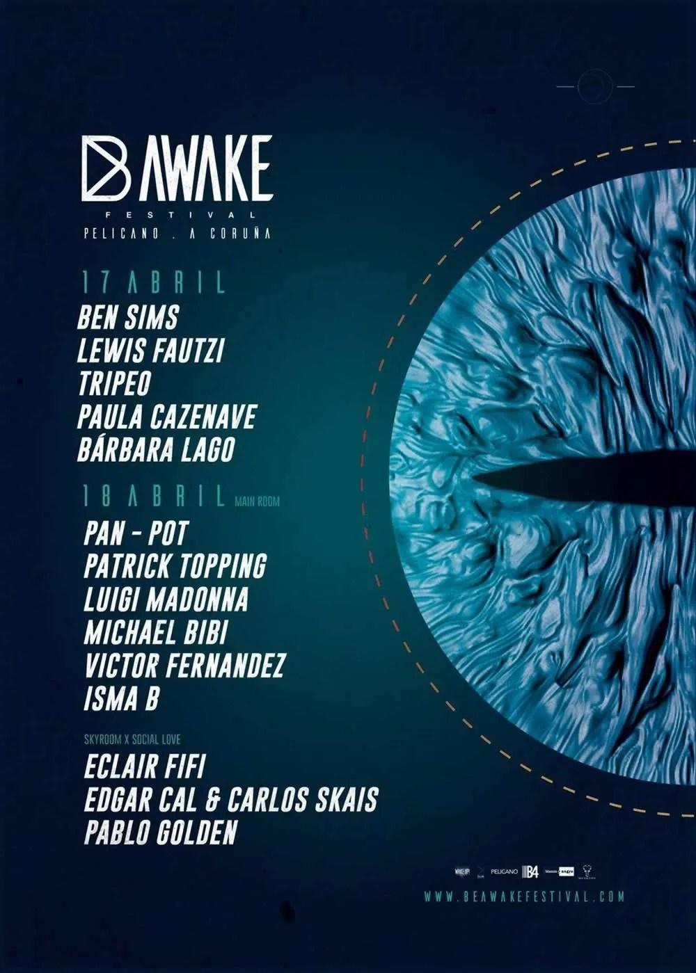 Be Awake Festival 17-18 abril