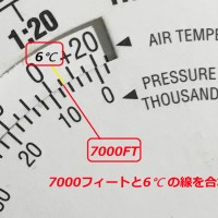 Flight Computer(航法計算盤)Part7 -真高度の求め方-