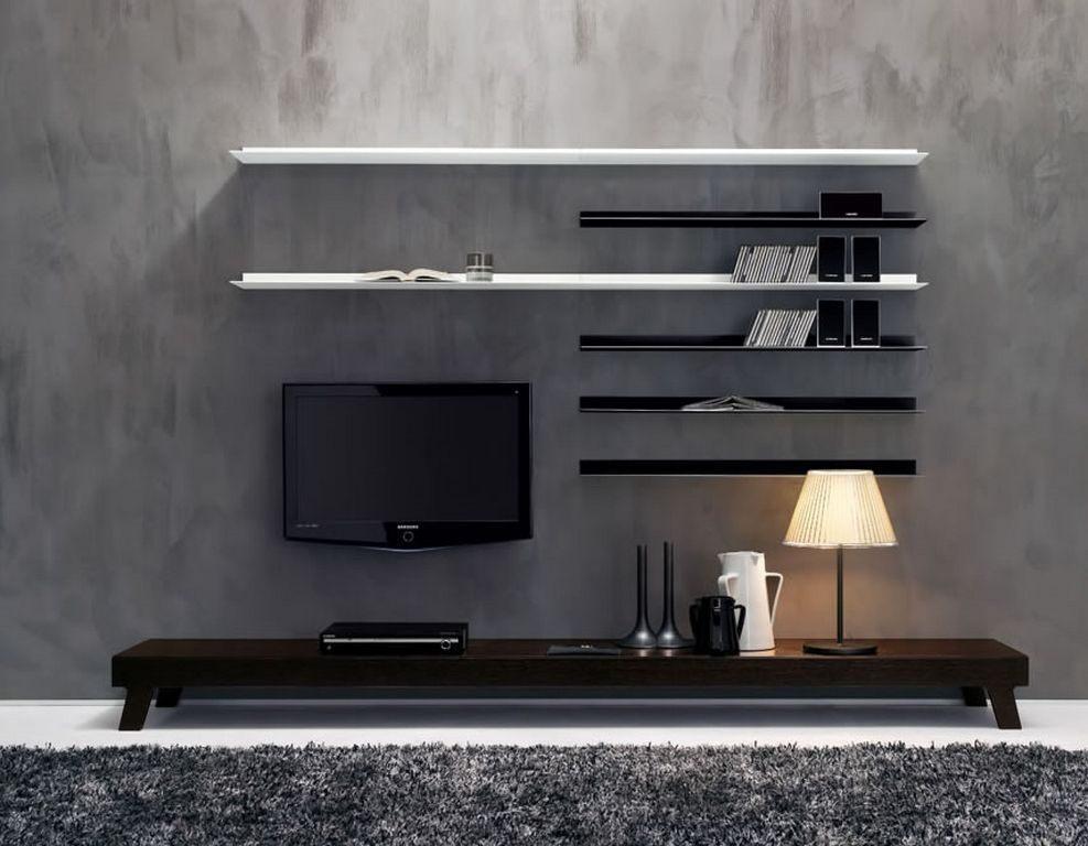 Mveis De Televiso E Estante Moderna Fotos E Imagens