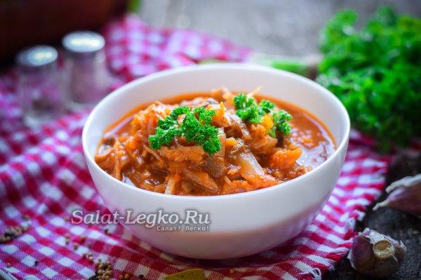 Салат из свежей капусты: рецепт с фото очень вкусный