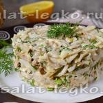 Салат с тунцом консервированным, рецепт с пошаговым фото