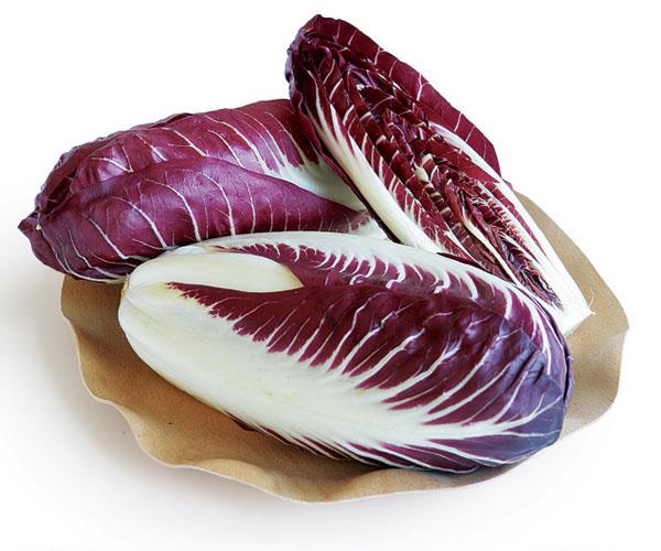 Zöldsaláta - radicchio saláta