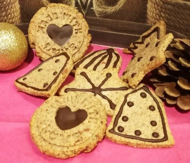 diétás karácsonyi keksz
