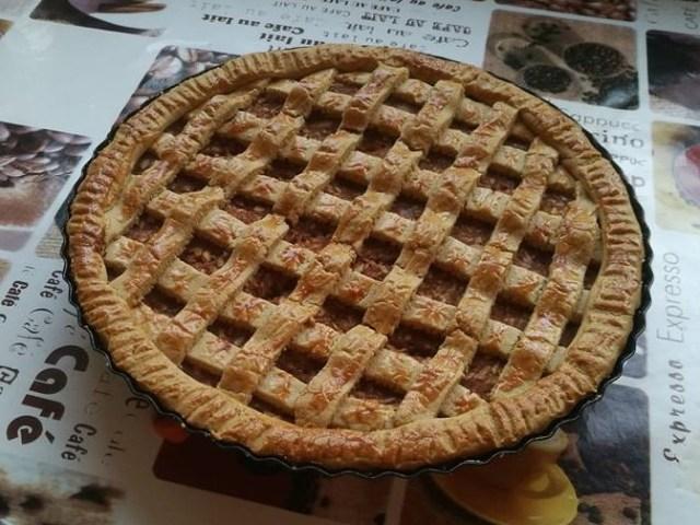 Diétás almás pite zabpehelylisztből