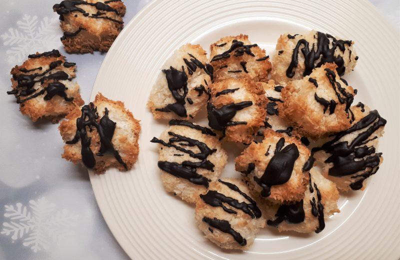 Cukormentes diétás kókuszcsók recept