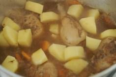 Depois as batatas
