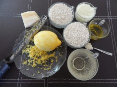 Ingredientes do risotto