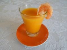 Moranga com camarão