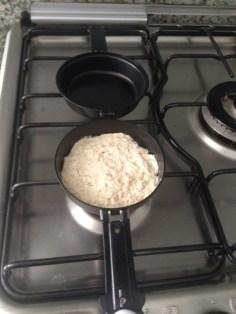 Detalhe da omeleteira