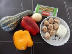 Ingredientes crus