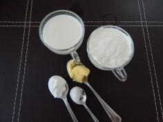 Ingredientes para cobertura