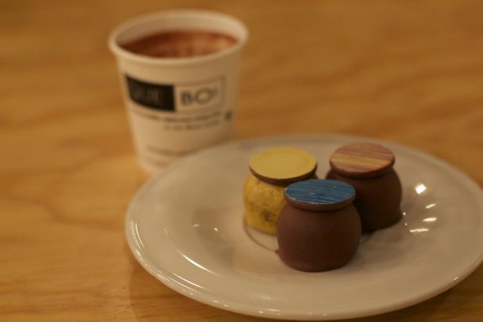 degustação de chocolates que bo!
