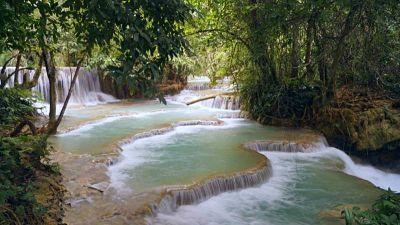 cataratas de Kuan Si