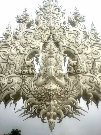 Buda Templo Blanco