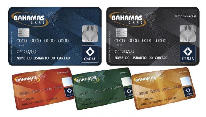 saldo do cartão Bahamas,